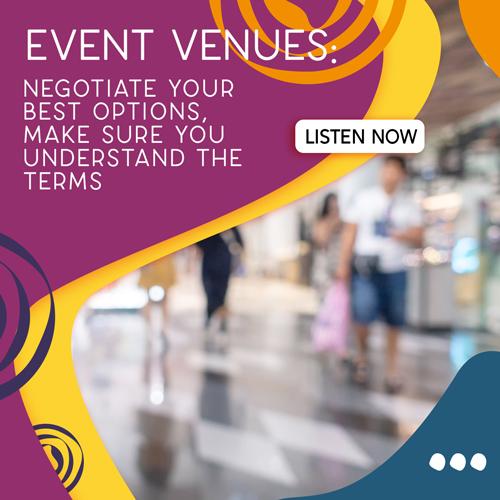 Negotiating Event Venues Part 1