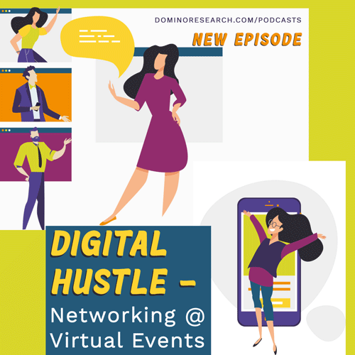 Digital Hustle - Networking at Virtual Events